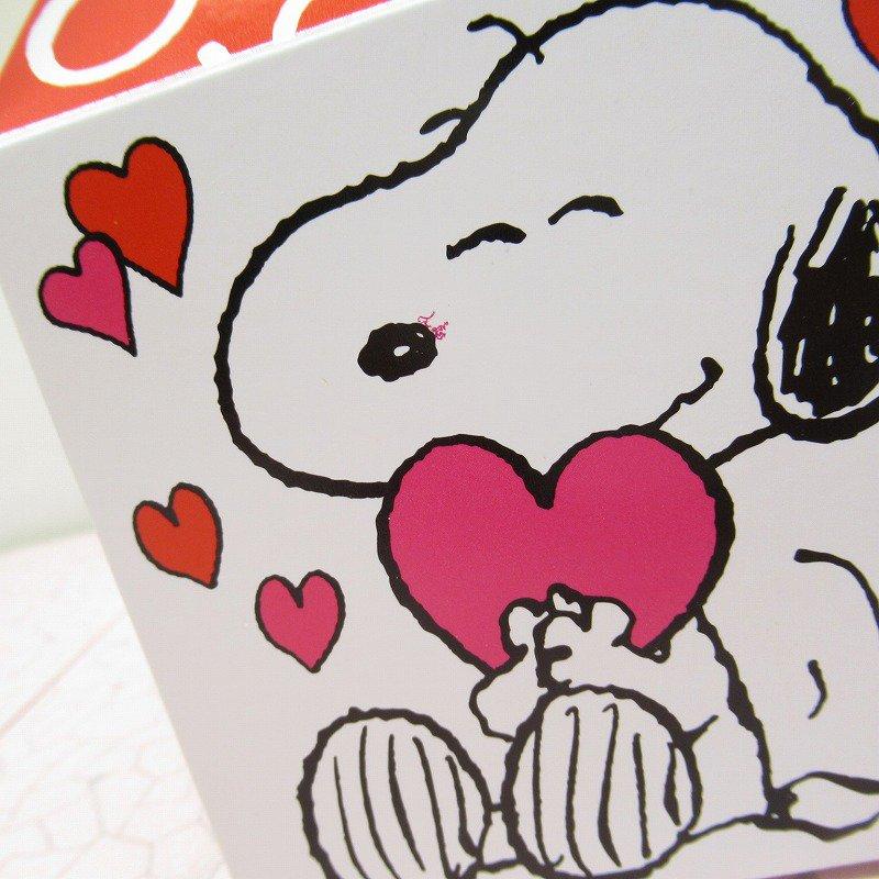 スヌーピー 日本未販売 バレンタイン ギフトボックス 未使用【画像4】