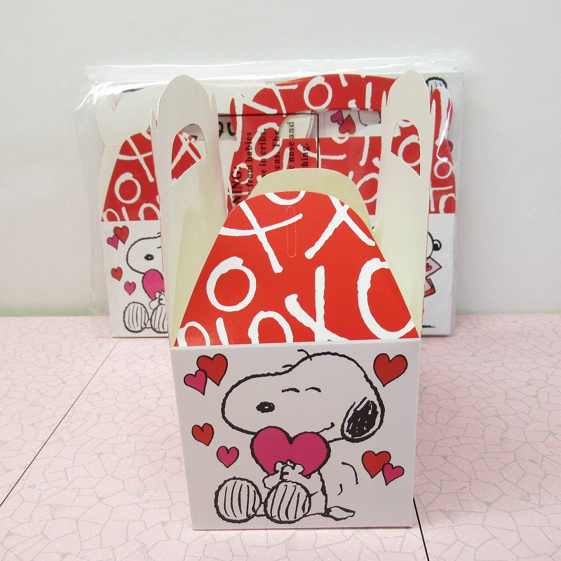 スヌーピー 日本未販売 バレンタイン ギフトボックス 未使用【画像7】