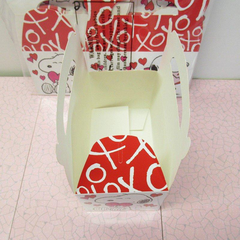スヌーピー 日本未販売 バレンタイン ギフトボックス 未使用【画像8】