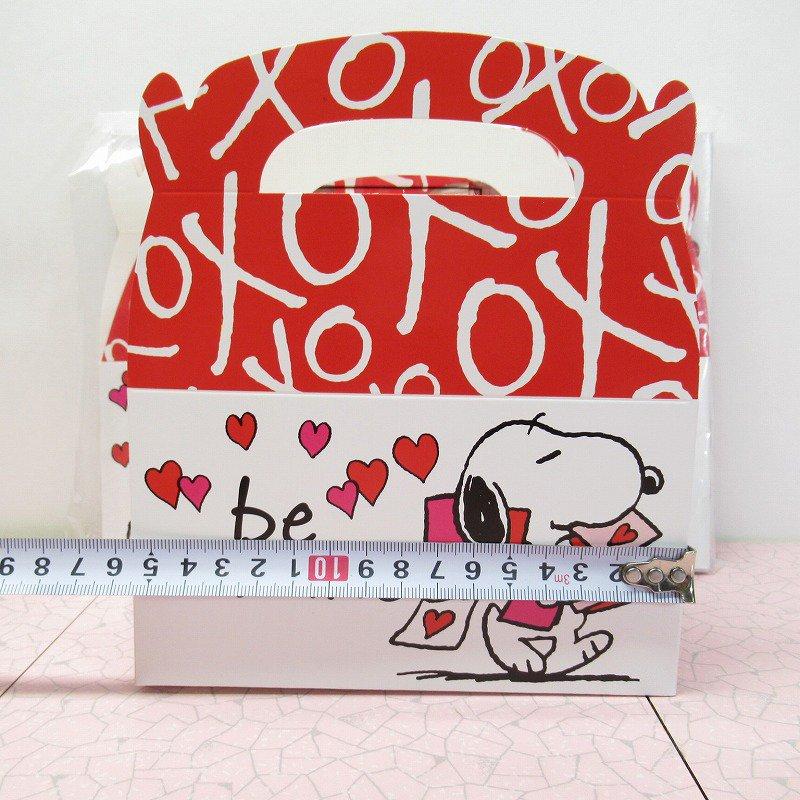 スヌーピー 日本未販売 バレンタイン ギフトボックス 未使用【画像10】
