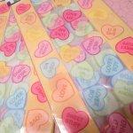 イベント  バレンタイン キャンディハーツ 12枚入り セロファンバッグ 未使用 現行品