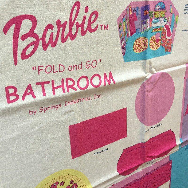 バービー バスルーム ファブリック
