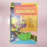 ディズニー  ロビンフッド ディズニー コミックブック 1974年