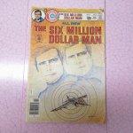 E.T.など他キャラクター  The Six Million Dollar Man コミックブック 1976年