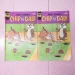 ディズニー  チップ&デール コミックブック 1977年