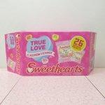 バレンタイン  キャンディーハーツ キャンディー大箱パッケージのみ