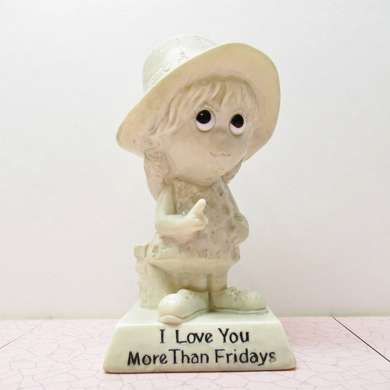メッセージドール I Love You More Than Fridays 1970年