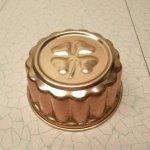 ケーキ作りアイテム  お菓子の型 アルミ製 コッパーカラー 四葉のクローバー