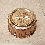 ケーキ作りアイテム  お菓子の型 アルミ製 コッパーカラー フラワー