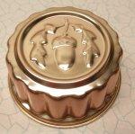 ケーキ作りアイテム  お菓子の型 アルミ製 コッパーカラー どんぐりA