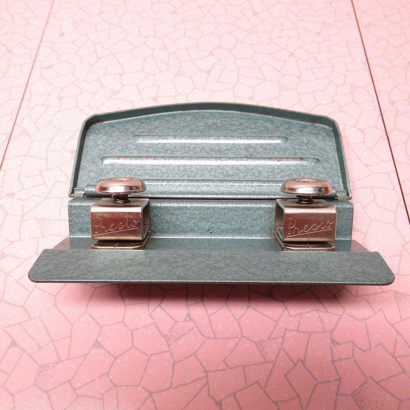 ホールパンチ 2個穴 メタル製【画像3】