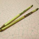鉛筆・ペン  鉛筆 細アドバタイジング ペンシル2本セット