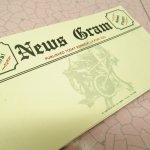 未使用  メモカード 1980年代 新聞風 News Gram 11枚セット