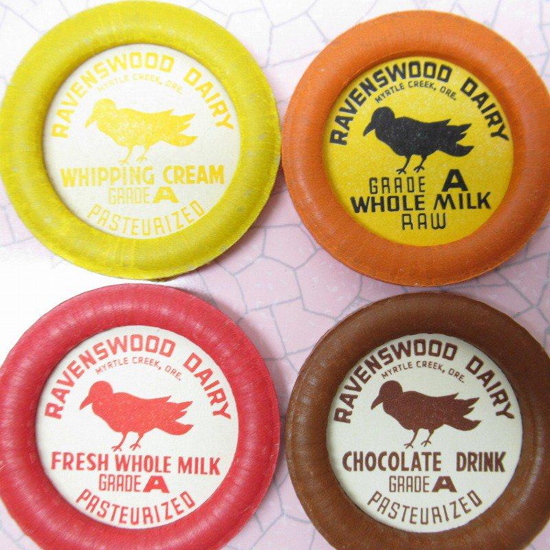 ミルクキャップ Ravenswood Dairy 各種