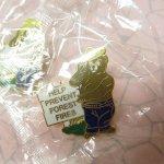 ライオンズクラブなどの非営利団体  スモーキーベア 公式並行輸入品 真鍮製 ピンズ