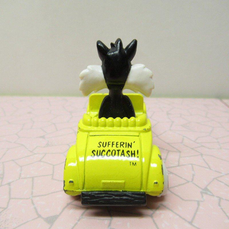 ルーニーテューンズ シルベスター ダイキャストカー 1988年米国製【画像3】