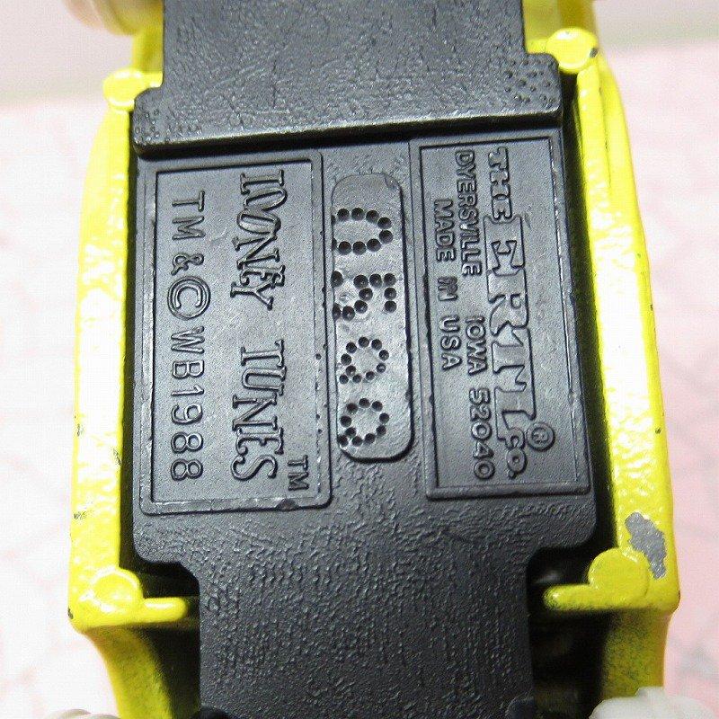 ルーニーテューンズ シルベスター ダイキャストカー 1988年米国製【画像6】