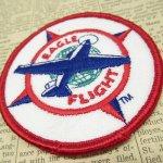 オート&ツール&ガレージ&乗り物系全般  ワッペン Eagle Flight