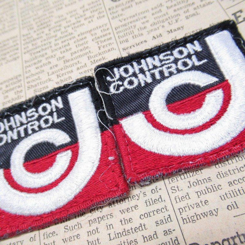 ワッペン Johnson Controls スクエア