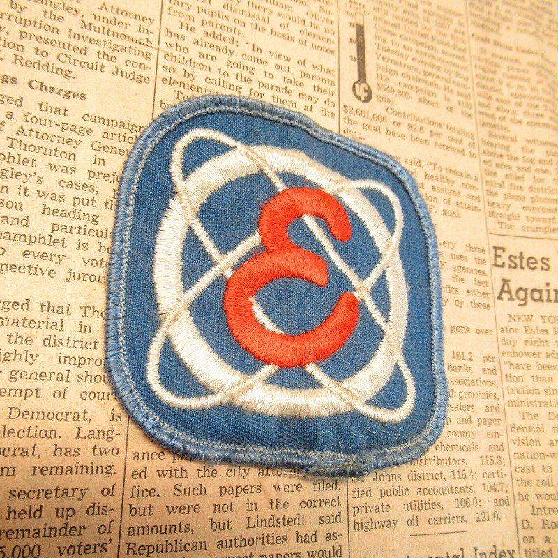 ワッペン E 電力会社 1950年代【画像3】