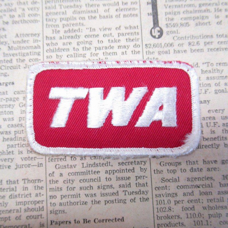 ワッペン TWA【画像2】