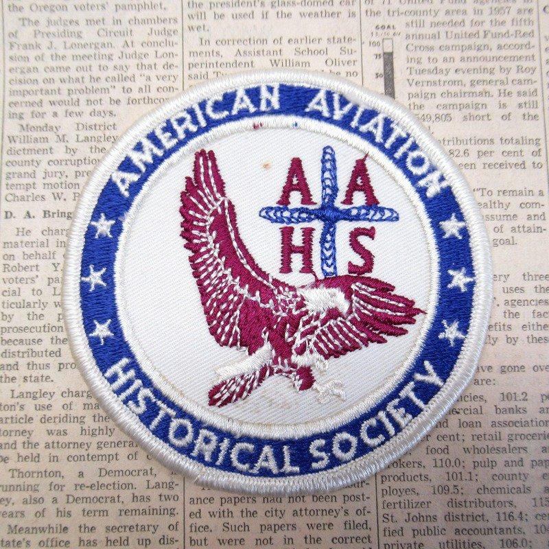 ワッペン American Aviation Historical Society【画像2】