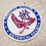 オート&ツール&ガレージ&乗り物系全般  ワッペン American Aviation Historical Society