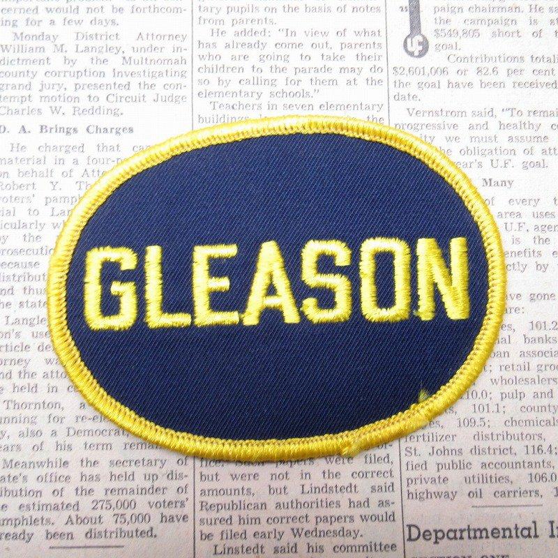 ワッペン ネームタグ GLEASON【画像2】