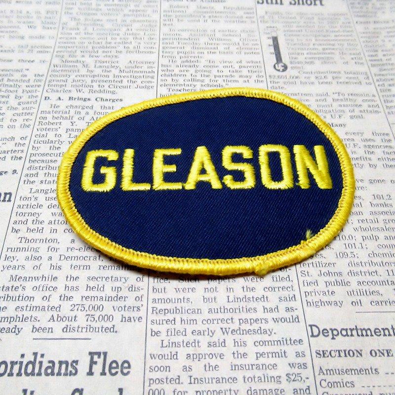 ワッペン ネームタグ GLEASON【画像3】