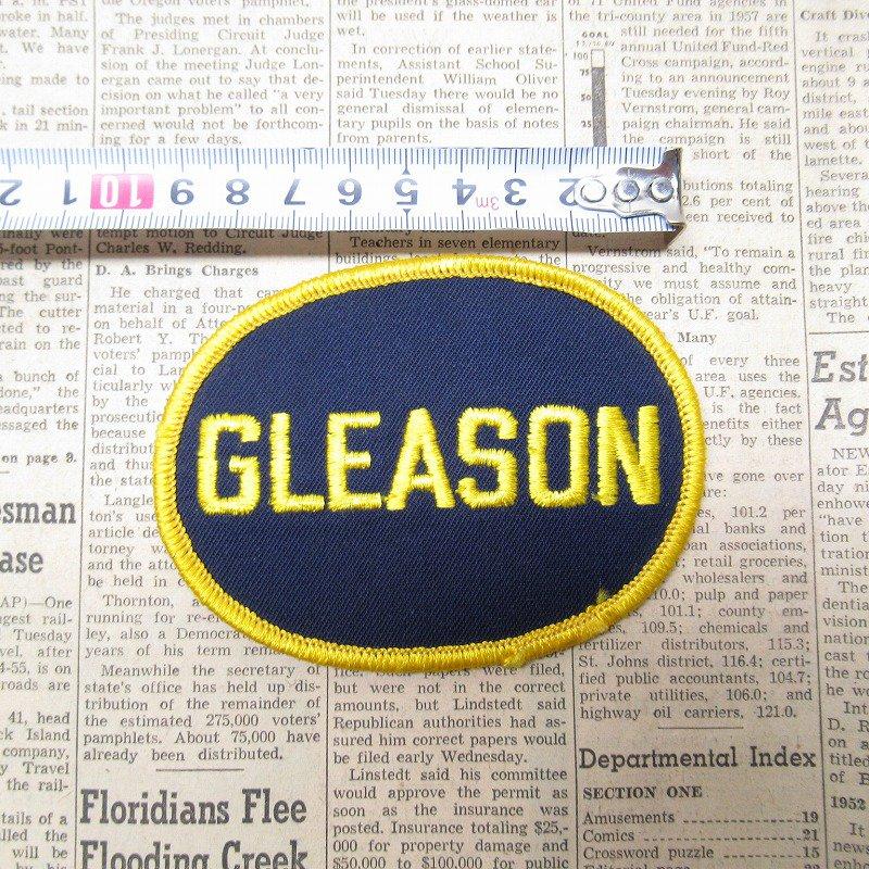 ワッペン ネームタグ GLEASON【画像4】