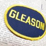 オート&ツール&ガレージ&乗り物系全般  ワッペン ネームタグ GLEASON
