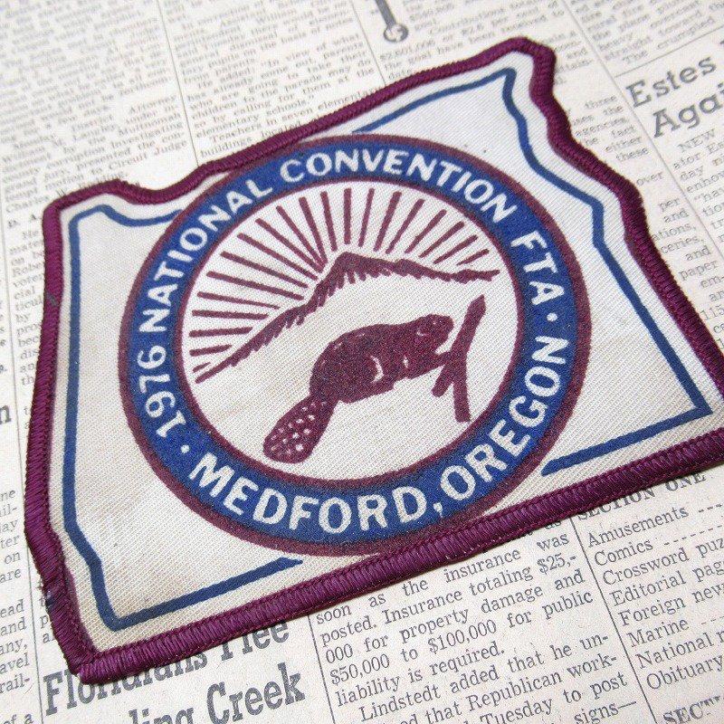 ワッペン 1976年 National Convention ビーバー