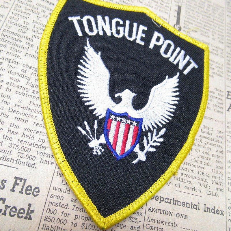 ワッペン TONGUE POINT