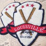 シーツ&ハンドメイド素材  ワッペン Louisville League