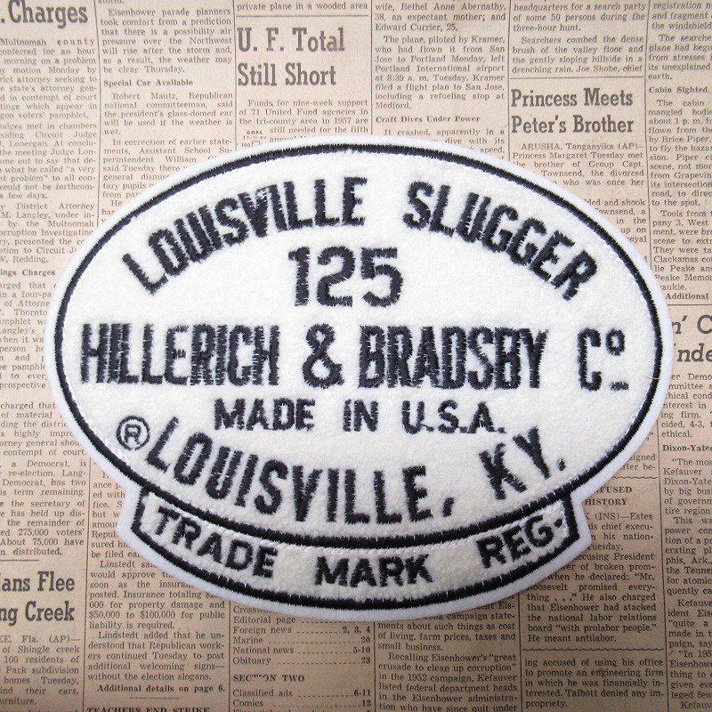 ワッペン Louisville Slugger 125【画像2】
