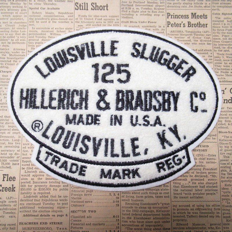ワッペン Louisville Slugger 125【画像3】