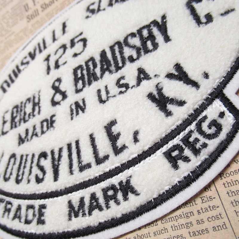 ワッペン Louisville Slugger 125【画像6】
