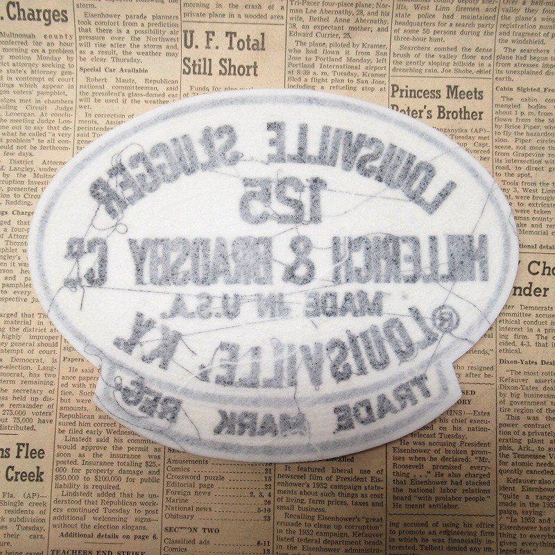 ワッペン Louisville Slugger 125【画像7】