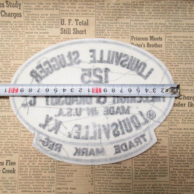 ワッペン Louisville Slugger 125【画像8】