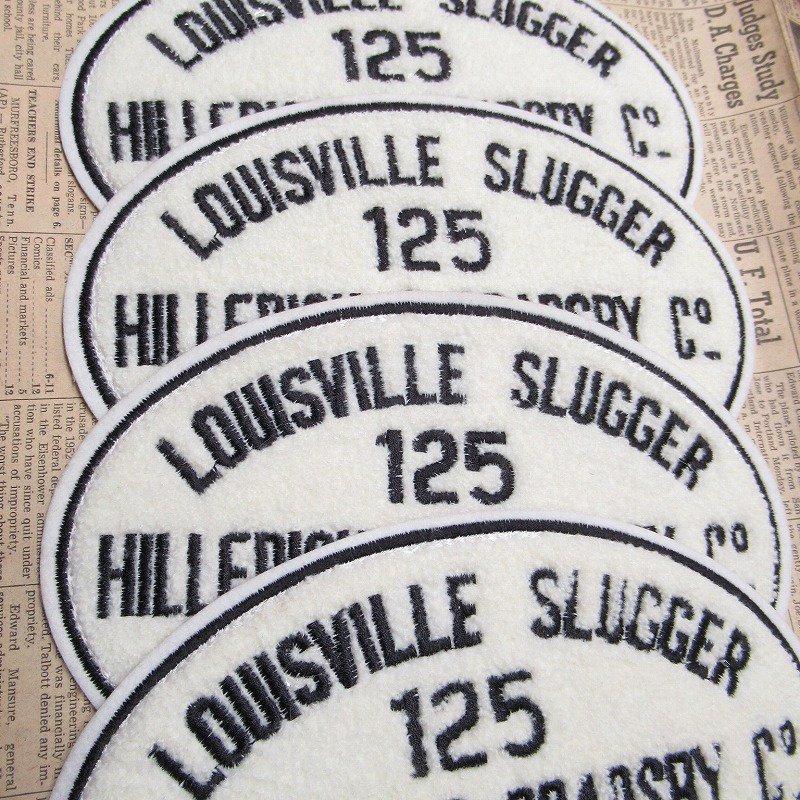 ワッペン Louisville Slugger 125【画像9】