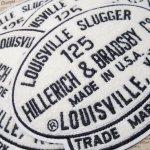 シーツ&ハンドメイド素材  ワッペン Louisville Slugger 125