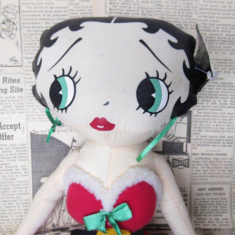 ベティちゃん プラッシュ クリスマス サンタドレス 紙タグ付き