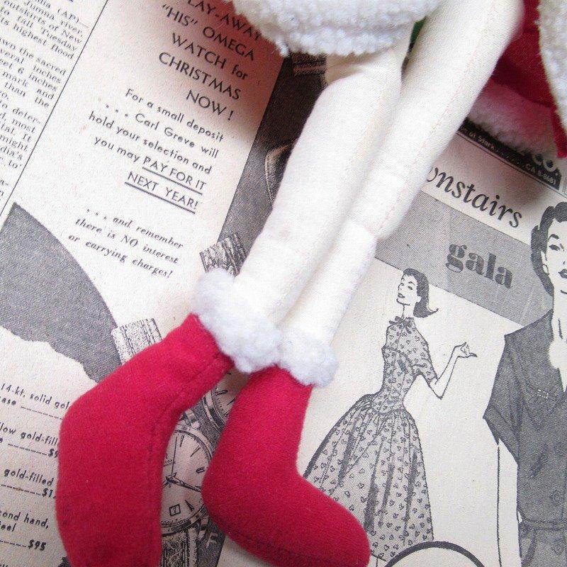 ベティちゃん プラッシュ クリスマス サンタドレス 紙タグ付き【画像12】