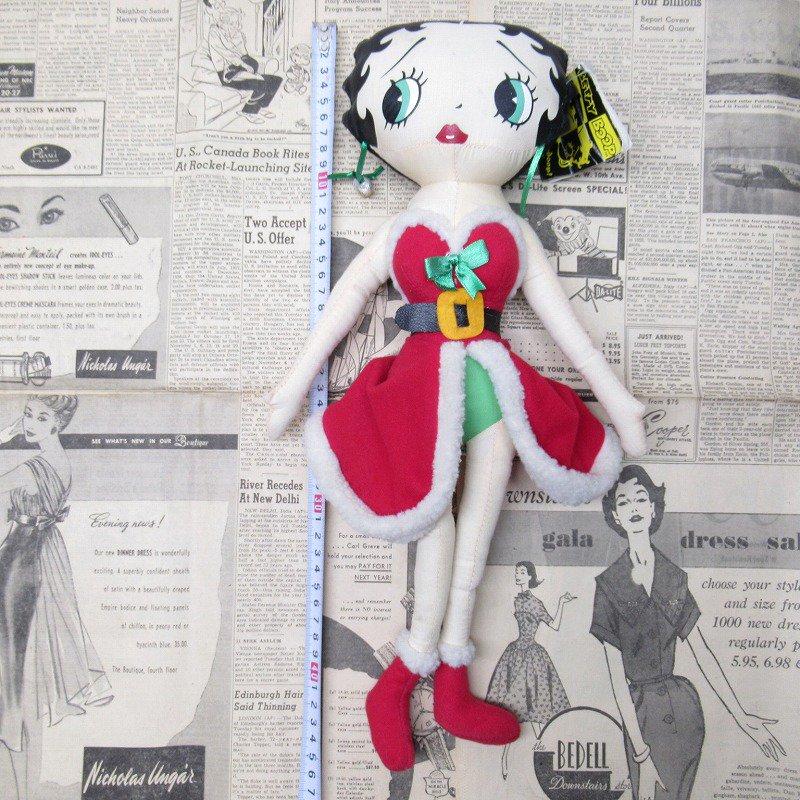 ベティちゃん プラッシュ クリスマス サンタドレス 紙タグ付き【画像13】