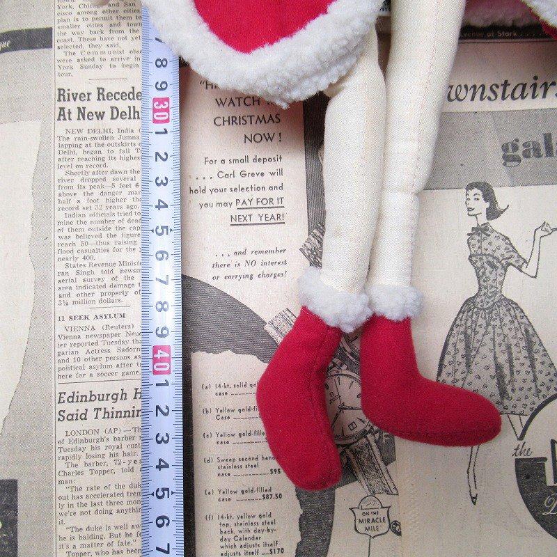 ベティちゃん プラッシュ クリスマス サンタドレス 紙タグ付き【画像14】