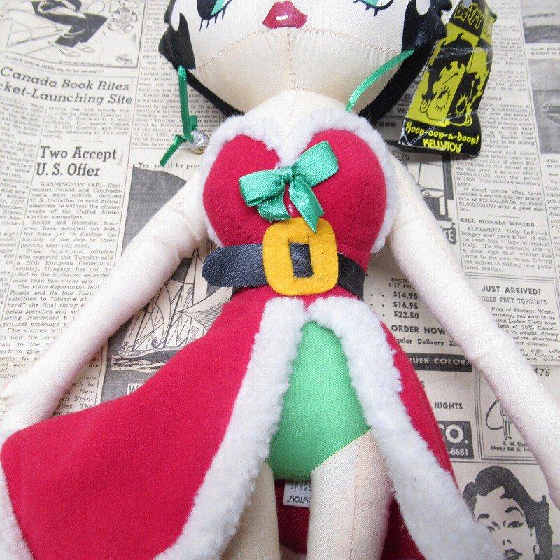 ベティちゃん プラッシュ クリスマス サンタドレス 紙タグ付き【画像4】