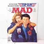 MAD アメリカコミック雑誌 1986年 12月号 トップガン