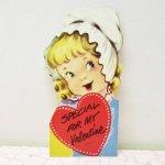 バレンタイン  バレンタインカード Special for my Valentine 女の子