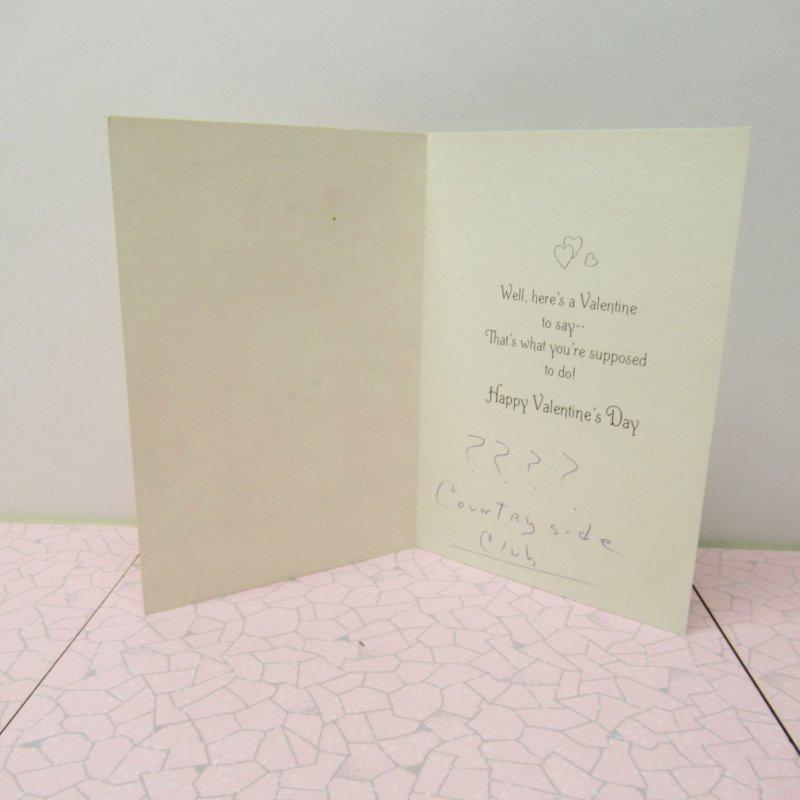 バレンタインカード Secret Pal ホワイトプードル【画像4】