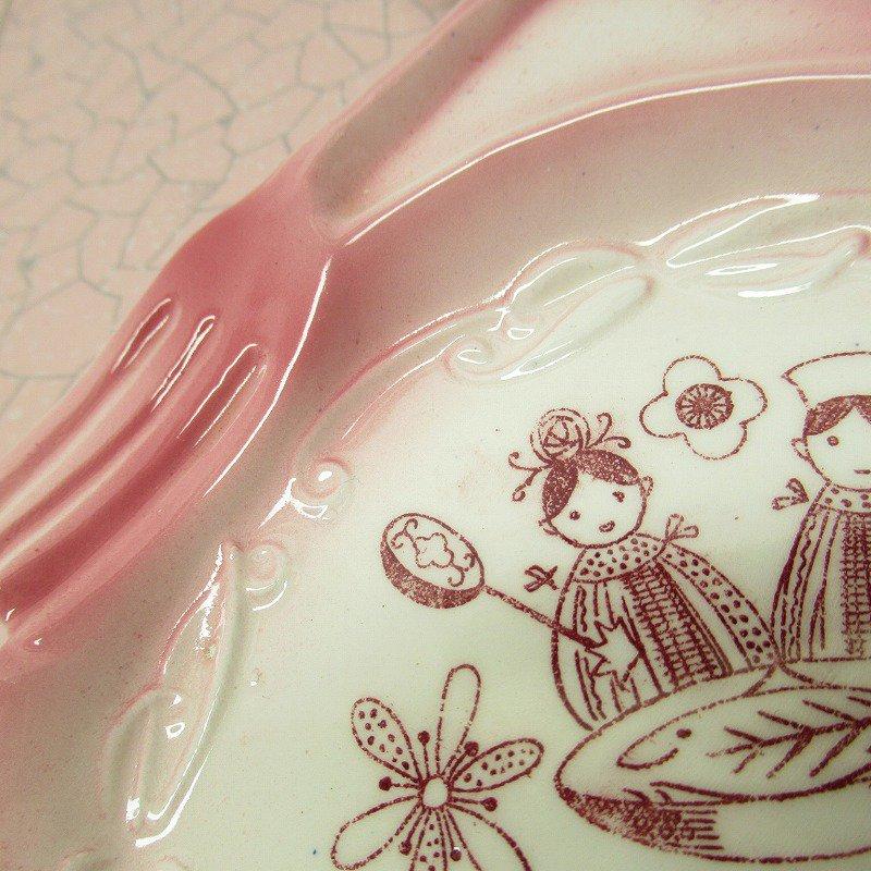 スプーンレスト 壁掛け ピンクキッチン 米国輸出用日本製 ラベル付【画像5】